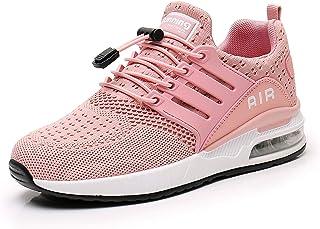 Monrinda Baskets Homme Femme Chaussures de Course Coussin d'air Unisexe Mode Loisirs LéGer Respirant Amorti Formateurs de ...