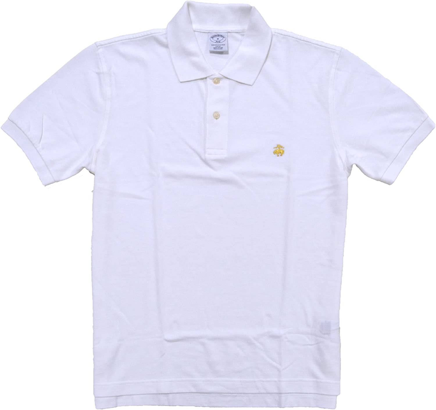 Brooks Brothers Golden All stores are sold Fleece Max 45% OFF Slim Polo Shirt Performance Fit