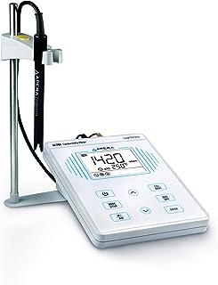 Apera Instruments AI502 EC700 Benchtop Lab Conductivity/Temperature Meter, Plastic, 1% F.S Accuracy, 0-200.0 mS/cm Range, ...