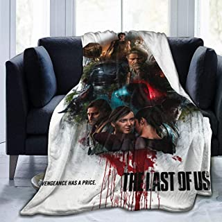 jkhhy The-Last-of-Us Frost Ultra-Soft Micro Fleece Blanket for Bed Couch Sofa Living Room Picnic Suitable All Seasons
