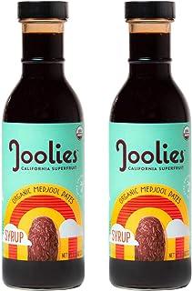 Joolies - Organic Medjool Date Syrup, 2pck (11.6oz), Single-Origin California Dates, Gluten Free, Vegan, Paleo, No Added Sugar, Low Glycemic, Antioxidants