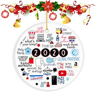 Best ValueVinylArt 2020 Ornament, Christmas Ornaments 2020 Christmas Ornament Quarantine Christmas Ornaments Clearance - Gifts for Christmas Review