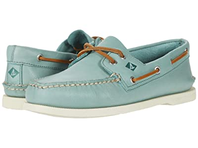 Sperry A/O 2-Eye Whisper (Green) Men