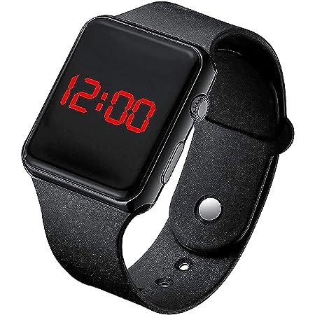 The Watch Company Digital Black Dial Led Watch for Kids Unisex Birthday Gift Digital Watch - for Boys & Girls