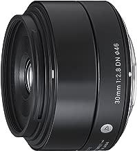 Sigma 30mm F2.8 EX DN Art Lens (Black) for Micro 4/3 (33B963) (Renewed)