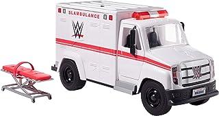 WWE Wrekkin' Slambulance Vehicle with Rolling Wheels, 8+ Parts GNK12