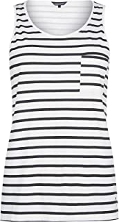 Tommy Hilfiger Tank Tops For Women, White & Black L
