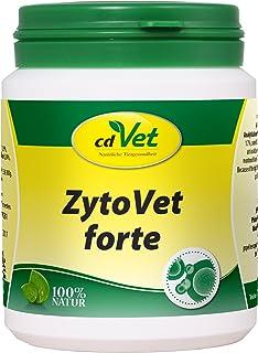cdVet cdVet Naturprodukte ZytoVet forte 150 g - Hund, Katze - Ergänzungsfuttermittel - Unterstützung des Immunsystems - Autoimmunerkrankungen - Zellstoffwechselprobleme - gesunde Zellen - Gesundheit -