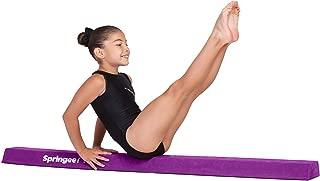 Springee 5ft Balance Beam - Extra Firm - Suede Sectional Gymnastics Beam for Home