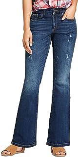 4d6ccc50 Universal Thread Women's Mid-Rise Skinny Bootcut Jeans Medium Wash