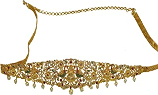 Micro Gold Plated One Gram Hip Belt Jewellery for Women