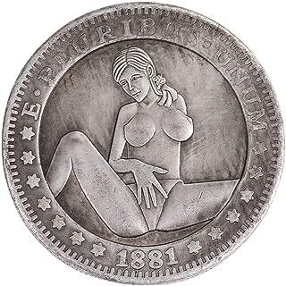GooKit Morgan Coins Dollars Old Coin Collecting Hobo Nickel Coin Handmade Original Crafts Hobby Collection