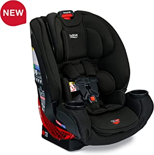 BRITAX One4Life ClickTight All-In-One Car Seat - 10 Years of Use - Infant, Convertible, Booster - 5 to 120 pounds - SafeWash Fabric, Eclipse Black