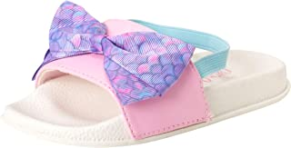 JoJo Siwa Toddler Girls Open Toe Slide Sandals with Signature Bow
