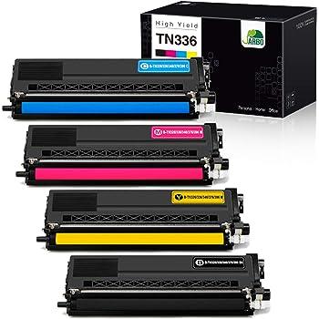 1 Pack Black TN336BK Toner Cartridge Replacement for Brother HL-L8250CDN L8350CDW L9200CDW MFC-8600CDW L9550CDW L8850CDW DCP-9050CDN L8400CDN Printers Toner Cartridge