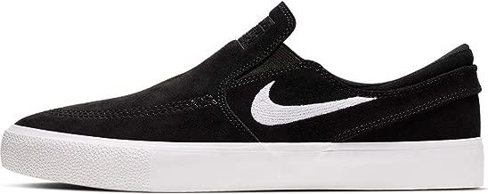 Nike SB Zoom Stefan Janoski Slip RM Men's Shoes - AT8899 (11 M US, Black/White-White)