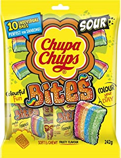 5 Pack of Chupa Chups Sour Bites Share Pack 10 Pack
