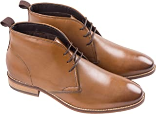 Ikon Mens Ripley Stiched Desert Ankle Boots Shoes