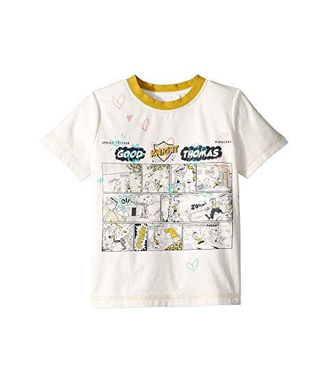 Burberry Kids Comic Doodle Tee (Little Kids/Big Kids)