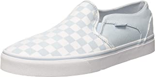 Women''s Asher Classic Checkerboard Slip On Trainers