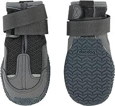 犬用靴 いぬくつ スモーキーグレー 2個入り|獣医師監修 犬靴・靴下ブランドdocdog (4/S)