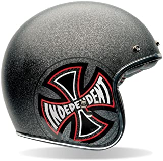Bell Custom 500 Special Edition Open-Face Motorcycle Helmet (Independent Grey, Small)