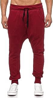 : jogging Rouge Pantalons de sport