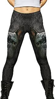 French Bulldog Face -New Ladies Womens Leggings