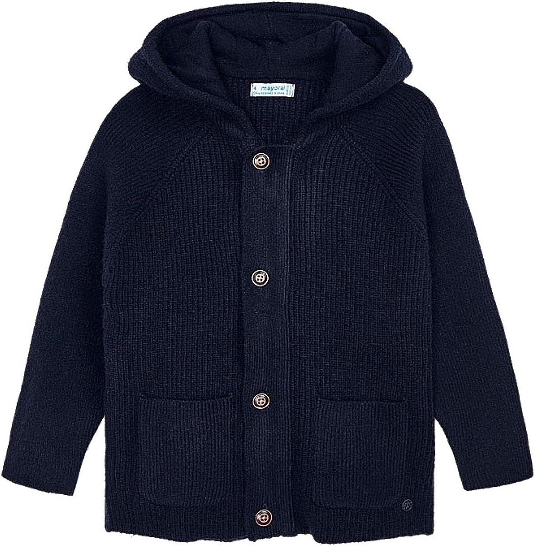Mayoral - Knit Pockets Pullover for Boys - 4340, Navy