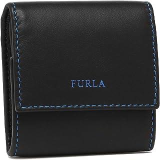 [フルラ] コインケース メンズ FURLA 902018 PT59 100 ODL ブラック ブルー [並行輸入品]