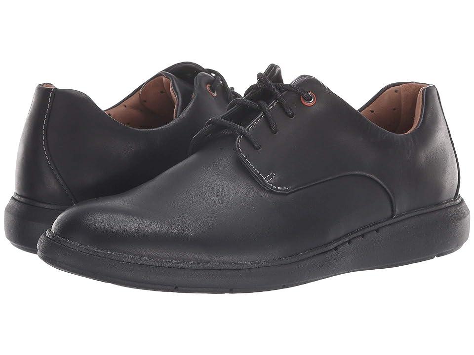 Clarks Un Voyage Plain (Black Leather) Men