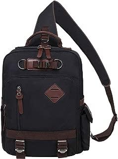 Mygreen Stylish Shoulder Backpack Travel Rucksack Sling Bag Cross Body Messenger Bag