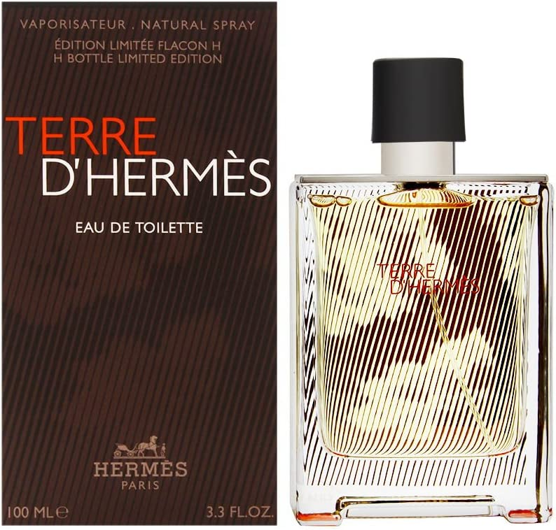 OFFicial mail order Terre D'Hermes by Hermes for Men Limited time trial price 3.3 Eau de H Toilette oz Spray