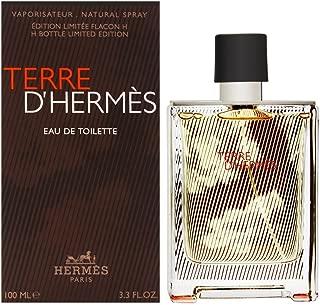 Terre D'Hermes by Hermes for Men 3.3 oz Eau de Toilette Spray H Bottle Limited Edition 2018