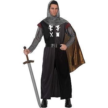 Atosa-12365 Disfraz Caballero Cruzadas, color negro, Xl (12365 ...