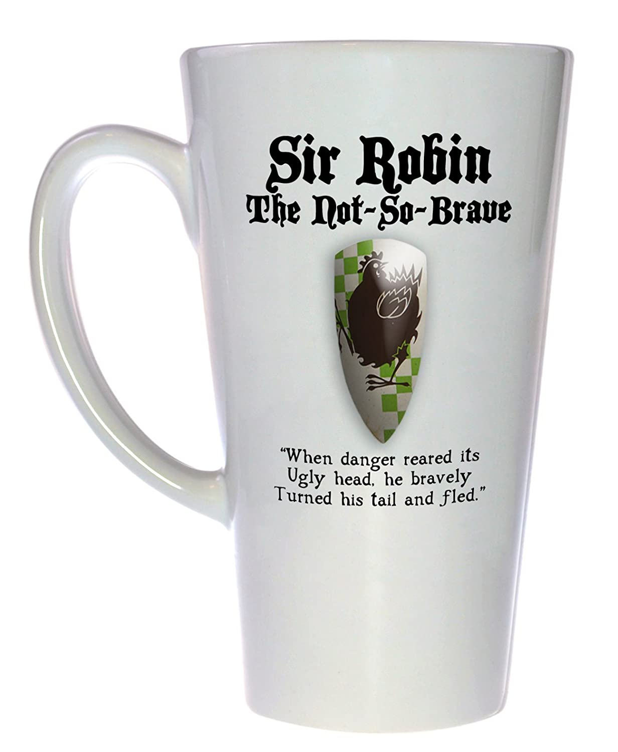 Sir Robin Monty Python and the Holy St Grail 17 Challenge the lowest price of Japan Latte ounce Tall Branded goods