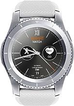 Padgene G8 Bluetooth Smart Watch, Sportactiviteitenmonitor, met touchscreen en stappenteller, voor Android en iOS (zilver)