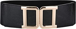 TEAMMAO Ceinture Femme V/éritable Cuir Ceinture 110CM-170CM Taille R/éguli/ère et Grande Ceinture 30mm de Large Affaires Mode Creux Jeans Robe Femme Ceinture.