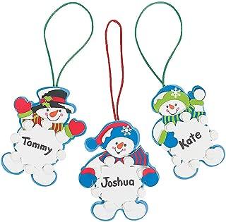 Best snowman name ornaments Reviews