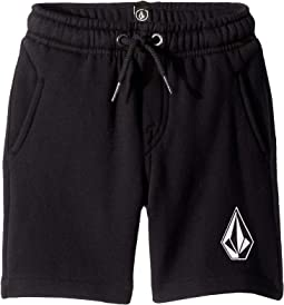 Deadly Stones Fleece Shorts (Toddler/Little Kids)
