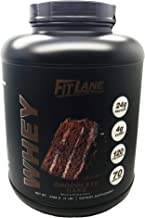 Low Carb Protein Powder. Best Tasting Chocolate Whey Protein Shake Mix for Men and Women. Protein Whey by Fit Lane Nutriti...