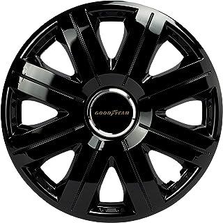 GOODYEAR Hjulskydd Flexo, hjulskydd, 15 tum, svart, 4 stycken, flexibelt material, för perfekt aluminiumfälgs-look