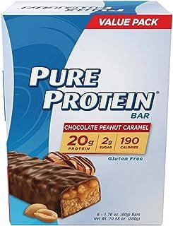 Pure Protein Chocolate Peanut Caramel Bars, 12-1.76 oz