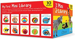 My First Mini Library Boxset of 10 Board Books