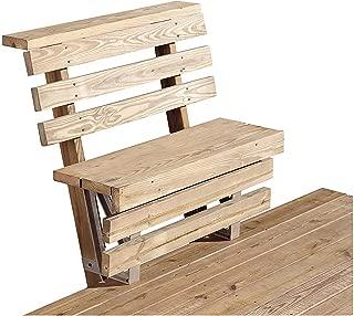 2x4basics Dekmate Deck Bench Bracket – Sand, Single