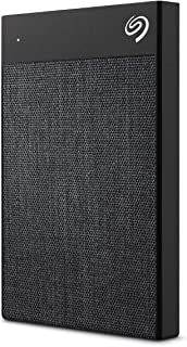 Seagate 1 TB Backup Plus Ultra Touch USB-C + USB 3.0 Portable External Hard Drive (Black)