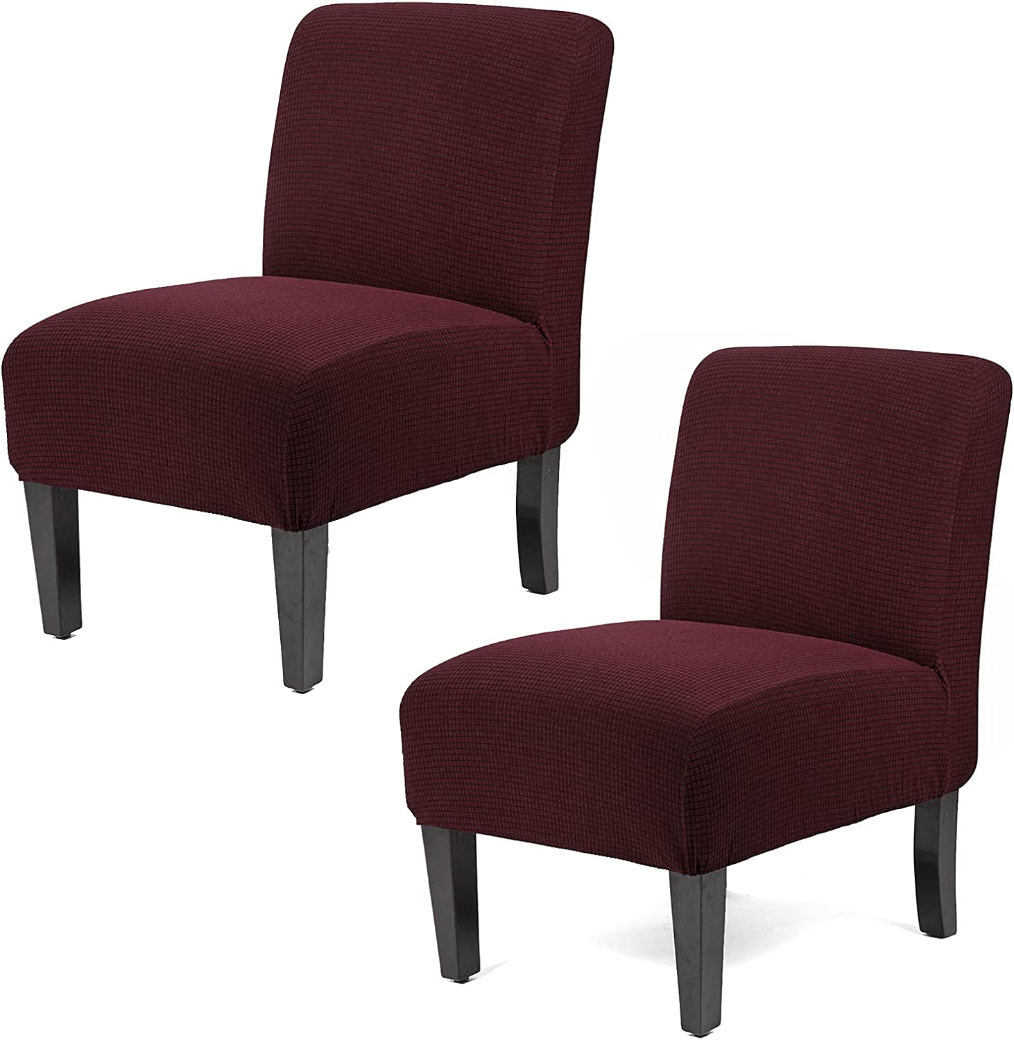 WOMACO Armless Accent Chair gift Cheap super special price Stretch Slipcover Cha Slipper