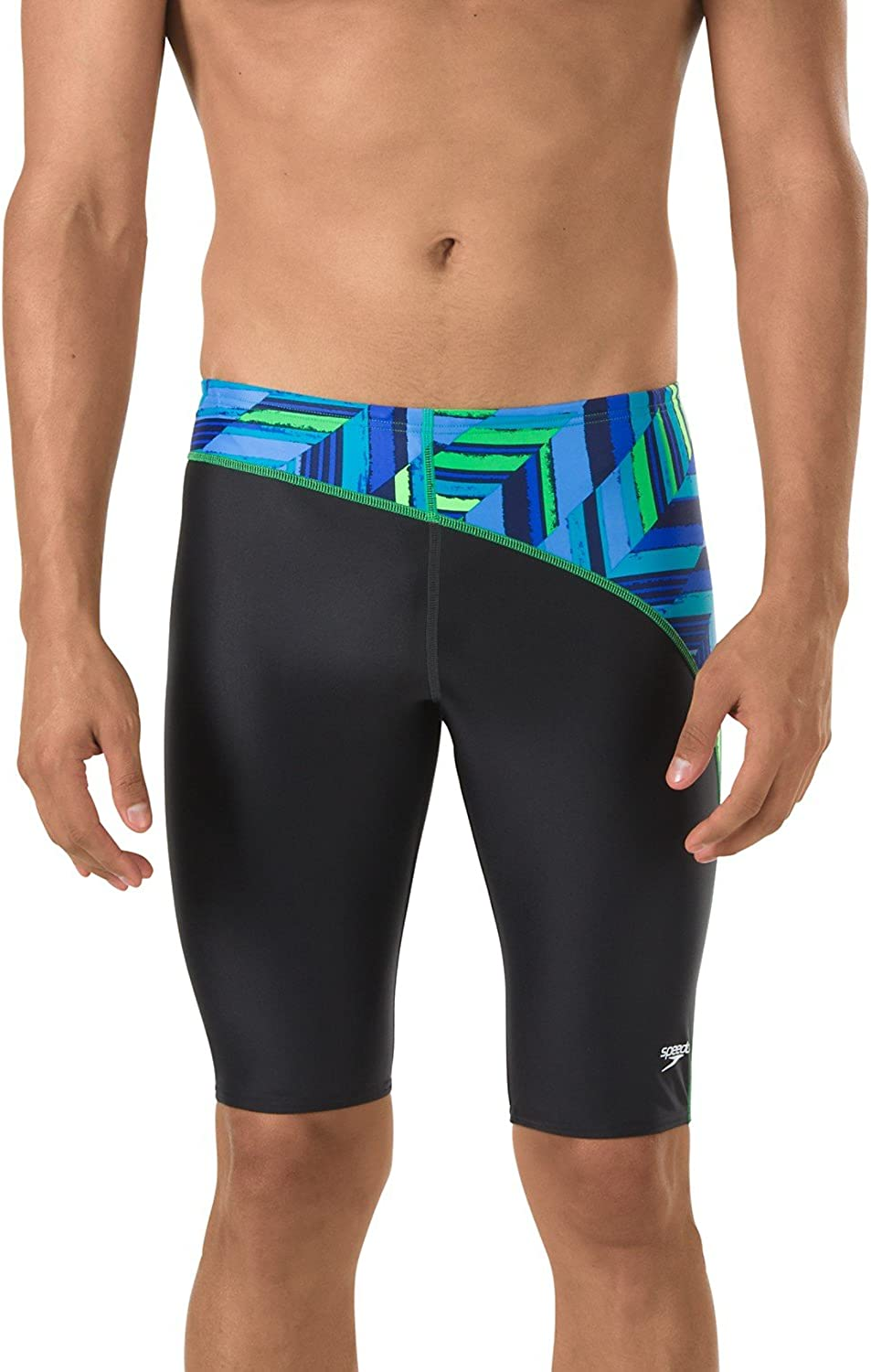 Speedo Men's Low In a popularity price Swimsuit Jammer Powerflex Angles-Discontinued Eco