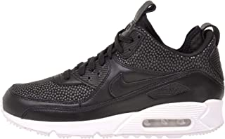 NIKE Men's Air Max 90 Sneakerboot Tech, Black/Black - Summit White, 10 M US