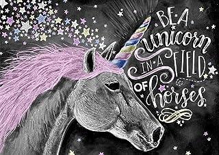 Amazon.es: cuadro de unicornio: Oficina y papelería